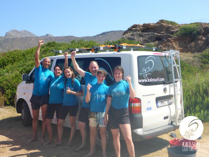 Earlybird with Kalo Surf on Crete
