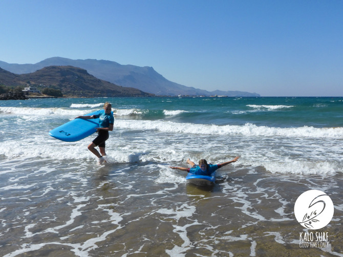 They came, saw and surfed - Surfing in Kissamos