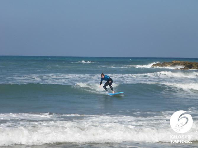 Our point break is still on - Surfing in Greece