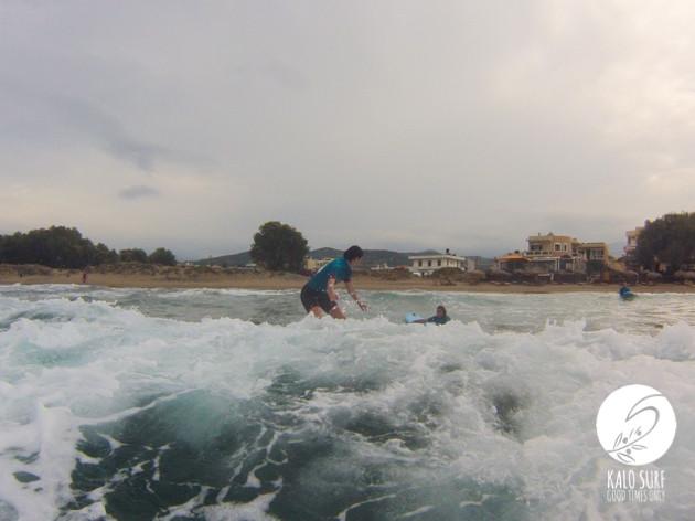 Wellenreiten, Kreta, Surfboard, Surfkurs