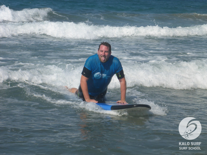 Surfing in Crete with Kalo Surf at Kissamos Bay