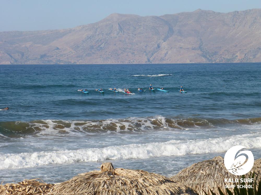 Wellenreiten Kreta, Surfbrett, Griechenland