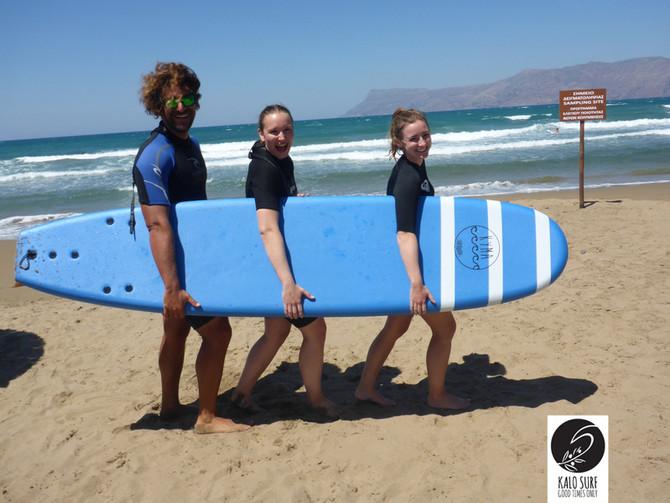 Let's Go Surfing in Crete
