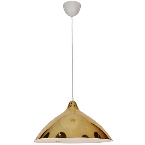 Lisa Johansson-Pape Large Perforated Metal Pendants for Innolux Oy