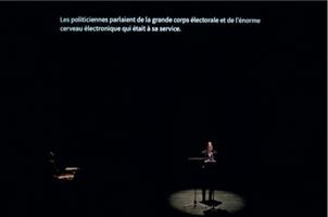 Cécile Babiole, «En française dans la texte», sur une proposition de Cécile Babiole et Anne Lafore