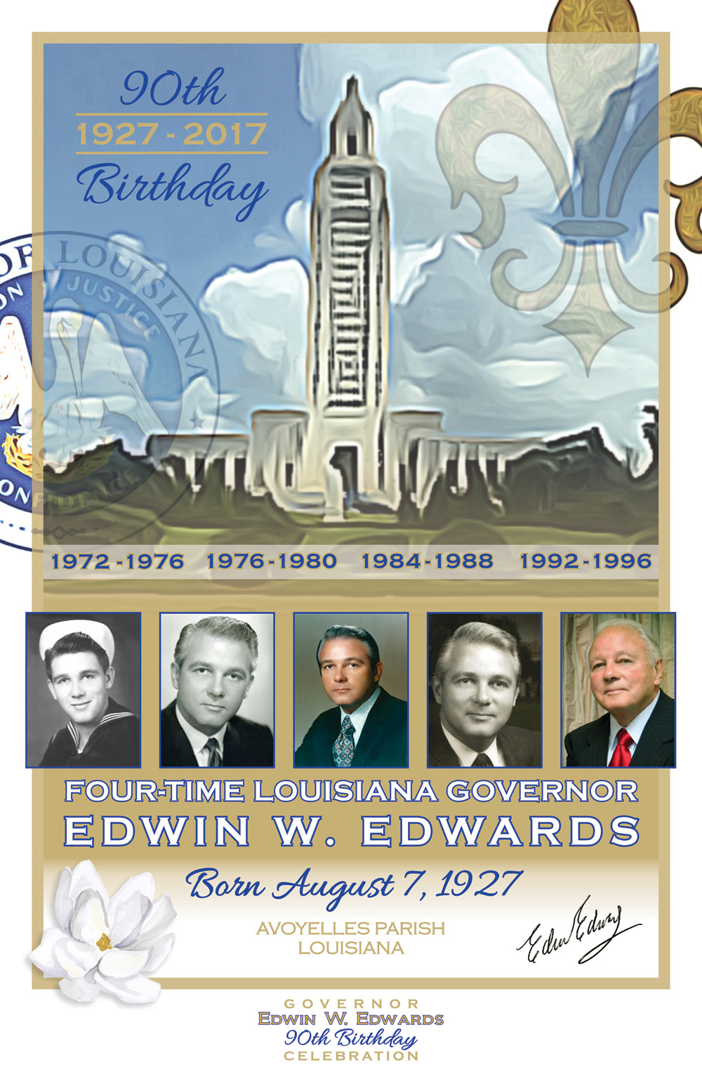 Commemorative Poster Art