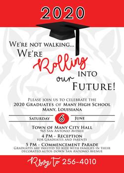 Graduation Parade Invitation