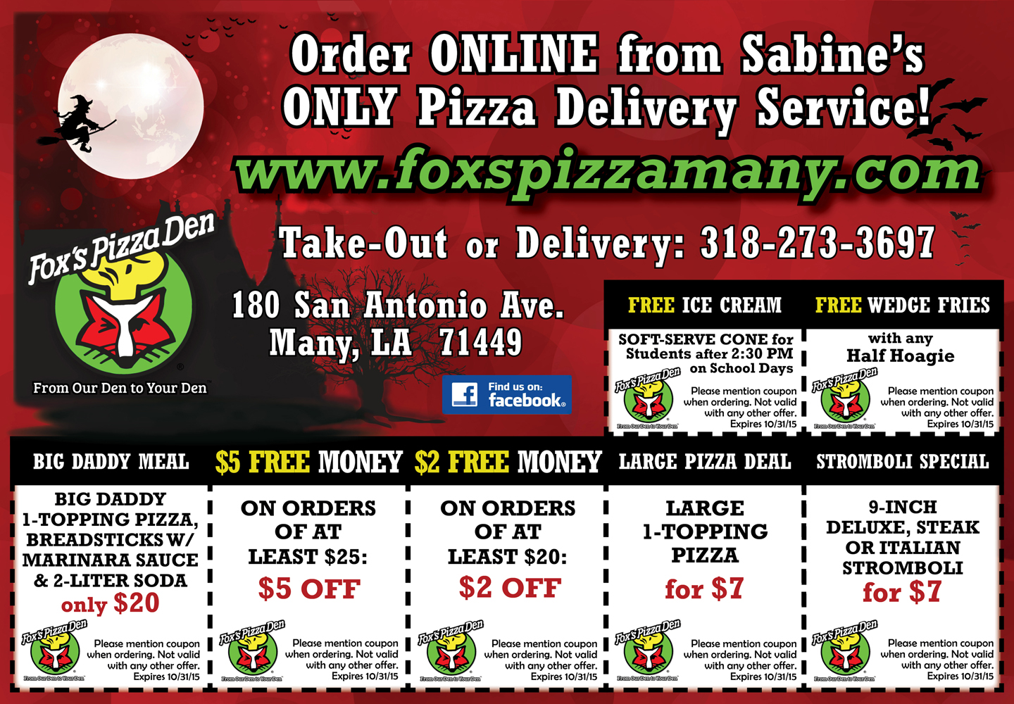 Pizza Box Flyer