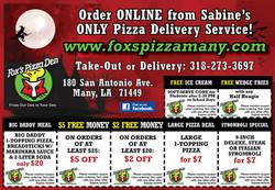 Pizza Box Flyer