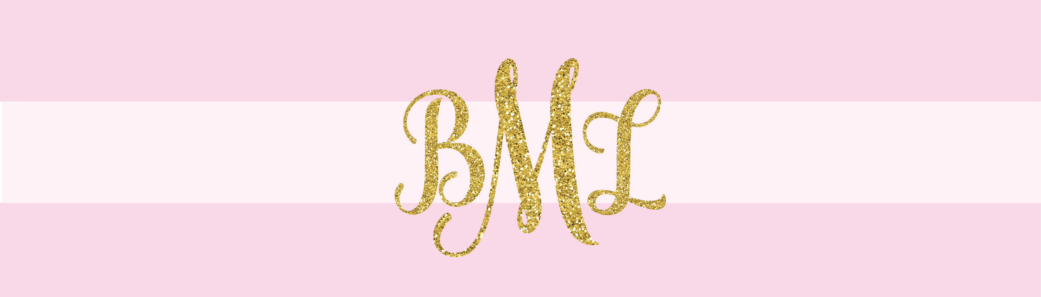 Monogram Water Bottle Label - Baby Shower