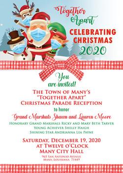 Christmas Parade Reception Invitation