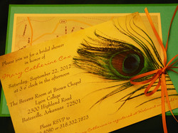 Invitation with Map