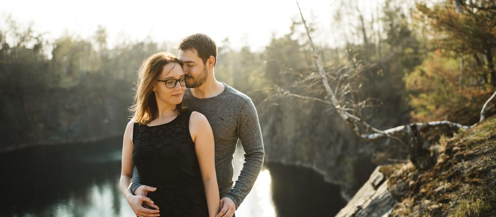 Paarfotografie mit Janett und Michael -Westbruch-Waldsteinberg, Brandis