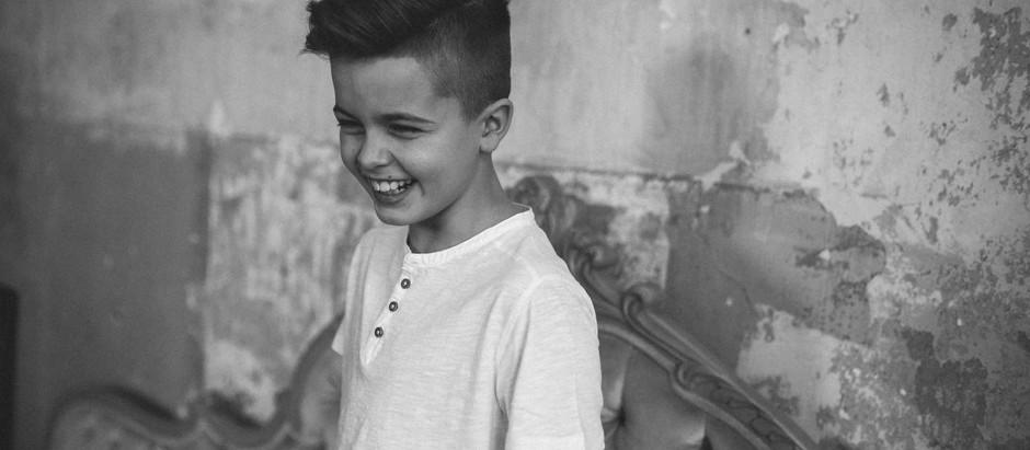 Kinderfotografie mit Felix