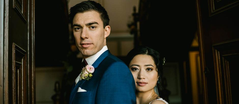 Wundervolle deutsch - chinesische Hochzeit in Leipzig - Herrenhaus Möckern