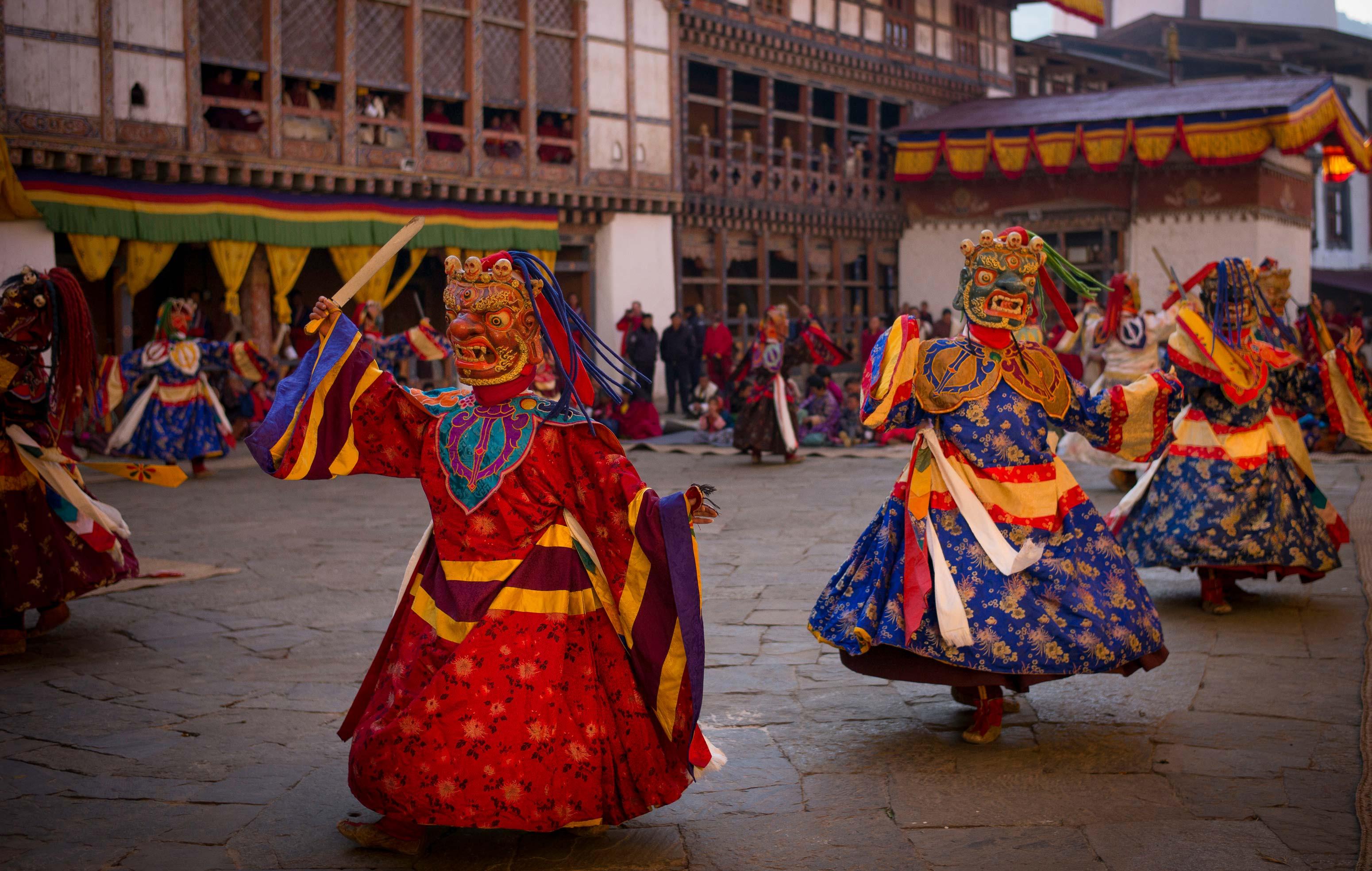 BhutanDancers