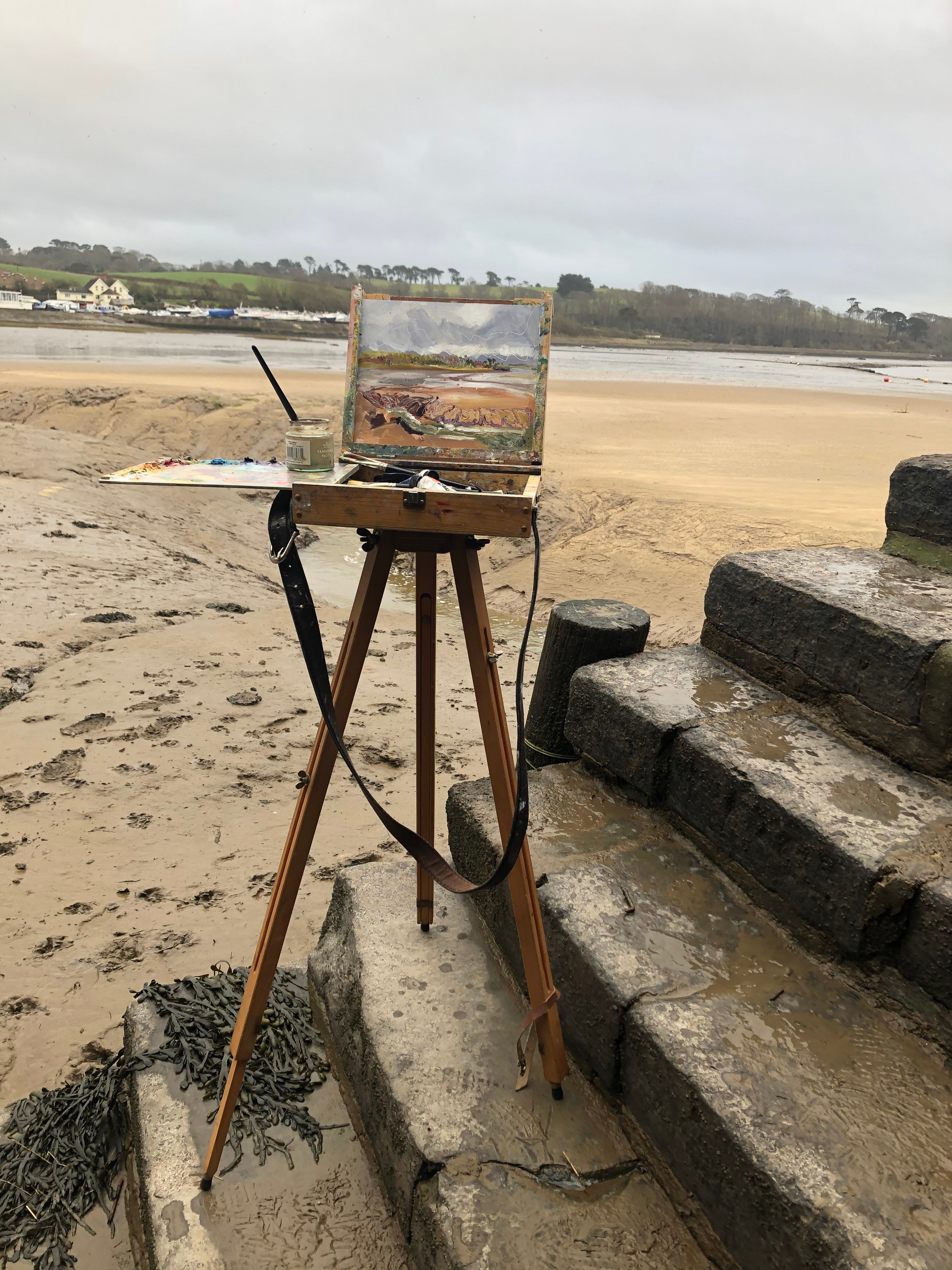 Paint Out: Instow Beach 20th August