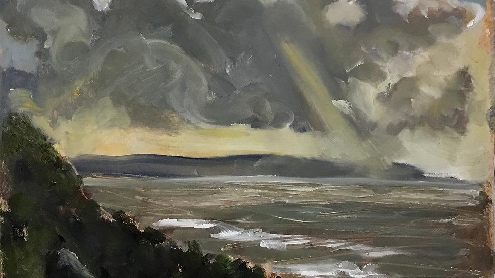 from Cornborough Cliffs . 27.10.2020