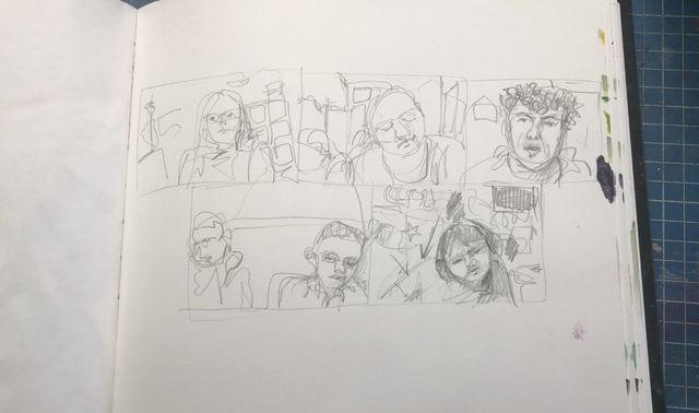 Pandemic Sketchbook