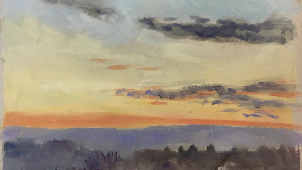 Sunrise over Bideford. 27.11.2020