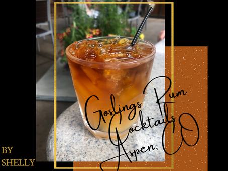 Goslings Rum Cocktails in Aspen, CO
