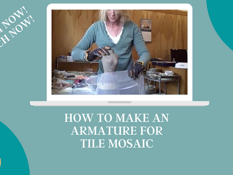 How to Make an Armature for Tile Mosaic