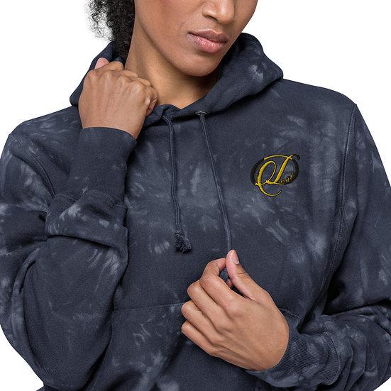 Desire Unisex Champion tie-dye hoodie