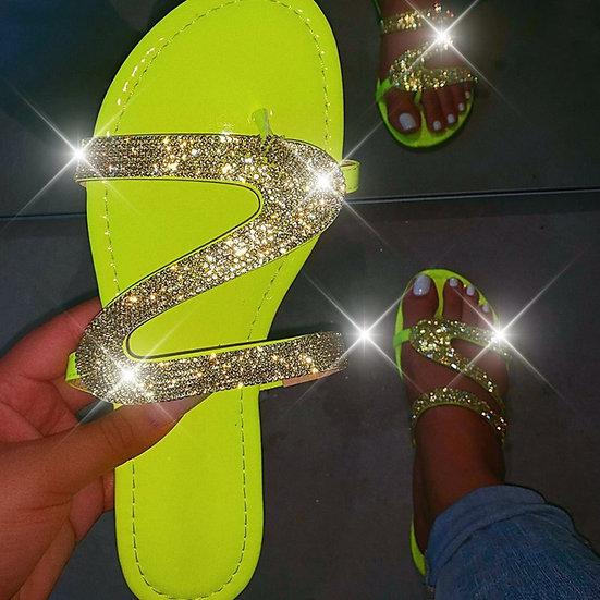 Summer  Bling Slippers