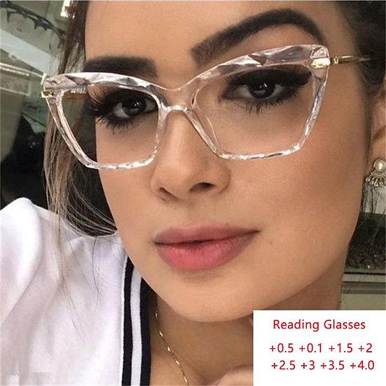 Clear Cat Eye Transparent Glasses