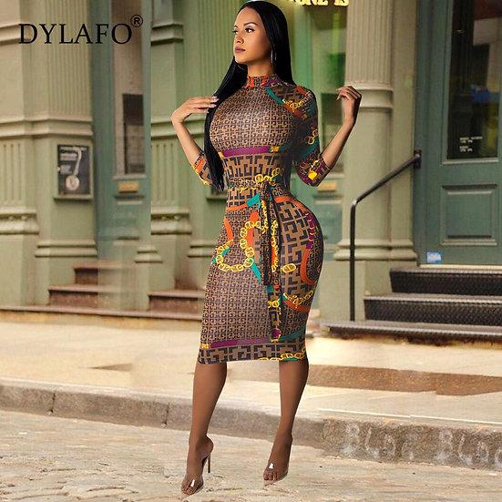 Fashionable Sexy Bodycon  Dress