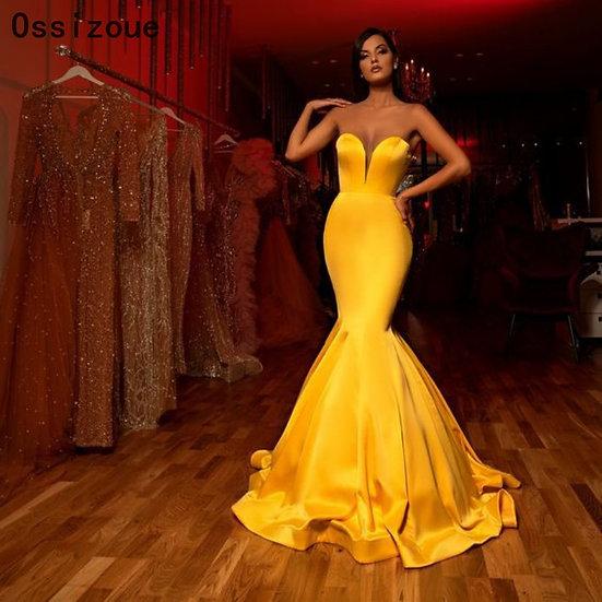 Ray of Sunshine Evening Dress
