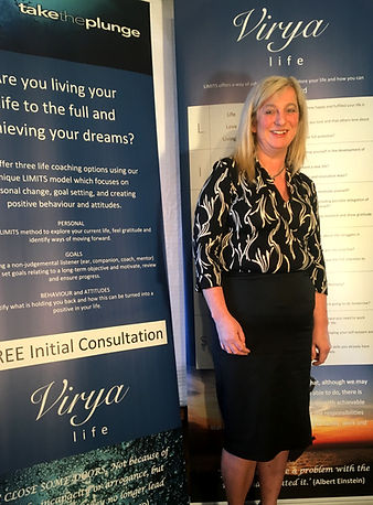 Saly Raymen, Life Coach and founder of Virya Life. Take the plunge
