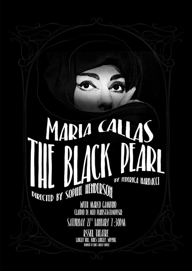 THE BLACK PEARL a play by Federica Nardacci