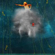 The infinite storm
