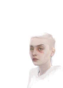 "Exhibition ""I am afraid to own a body"" 2020"