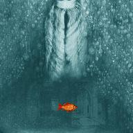 Like a fish in the rain