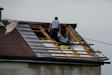 Помощь пострадавшим от урагана
