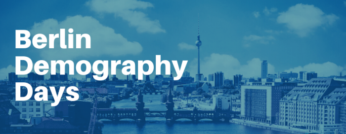 Join: Berlin Demography Days - a three day solution-focused event