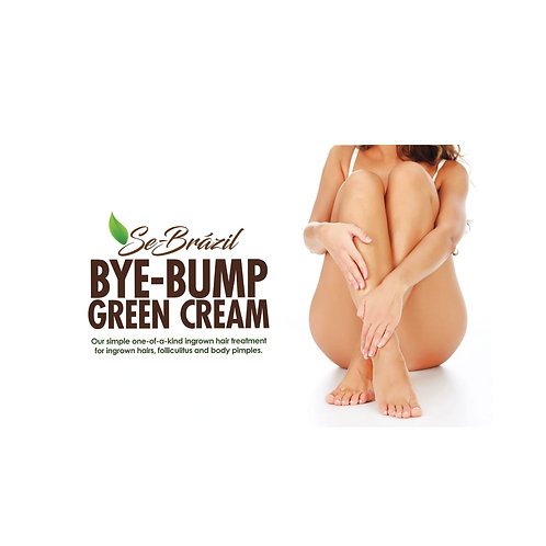 BYE BUMP GREEN CREAM