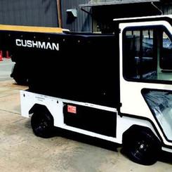 Cushman Custom Refuse Haulers