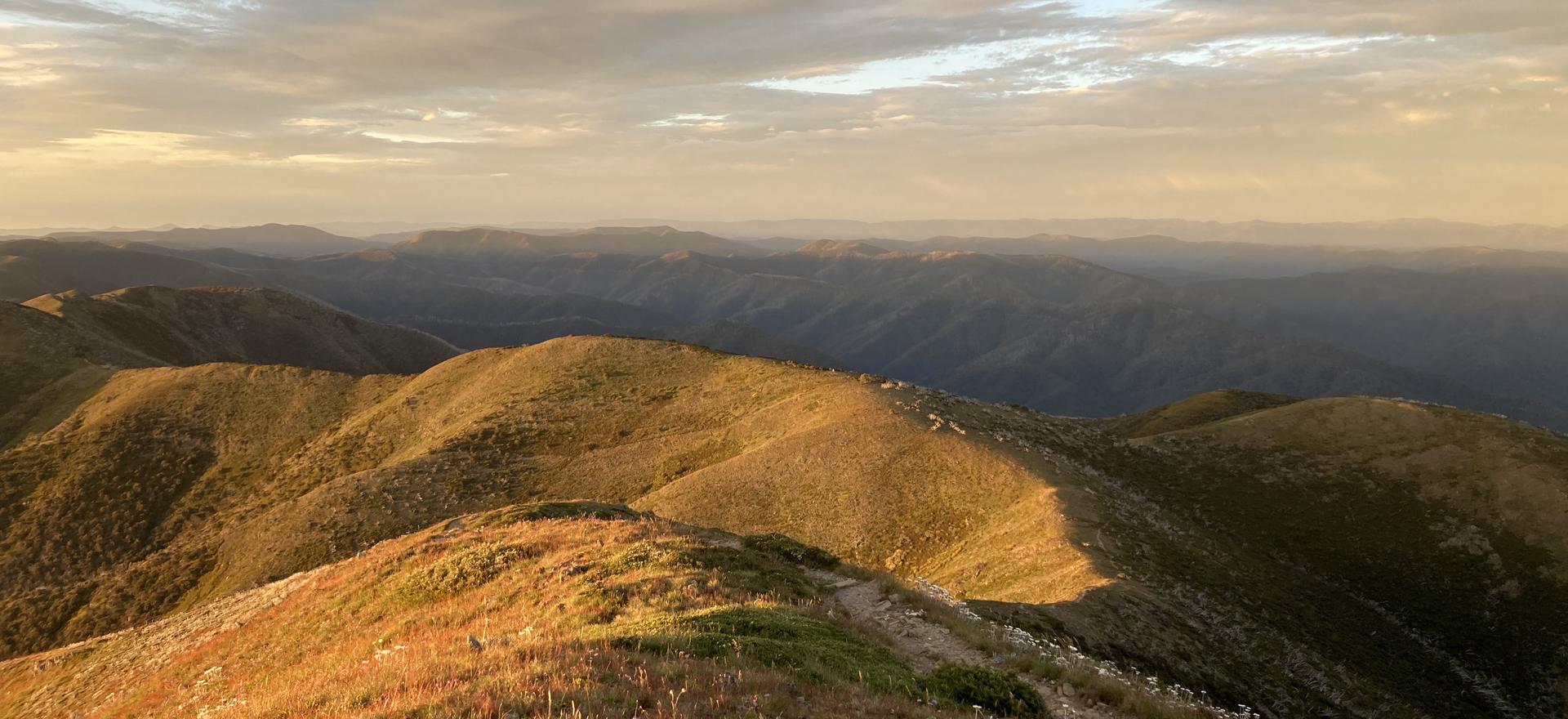 Sunrise Mt Feathertop Victoria Australia