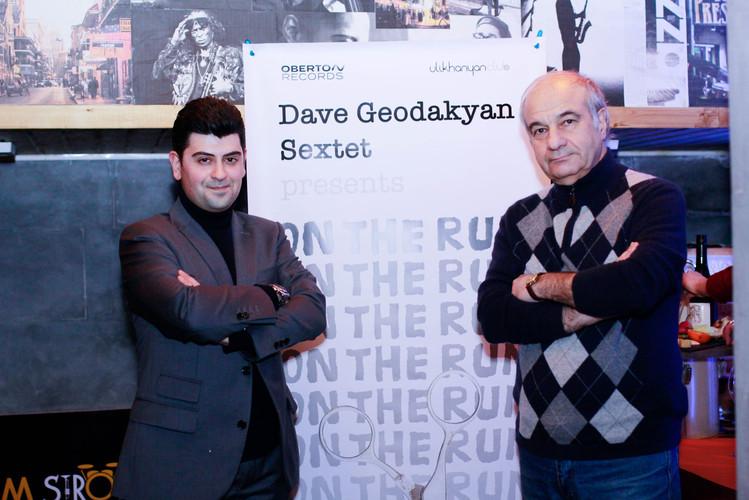 Давид Геодакян и Армен Манукян