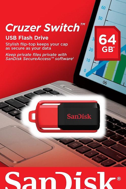 CLÉ USB 64Go