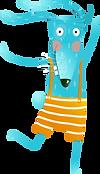 animal dos desenhos animados