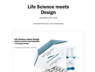 Life Science meets Design25.11.2020|14.00 – 16.00