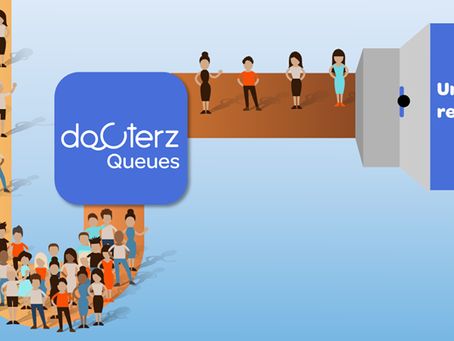 Unclog your reception with 'Docterz Queues'.