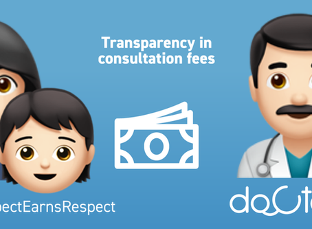 Build transparency and trust with patients with Docterz.