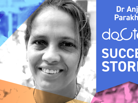 """""""Docterz is beneficial for doctors as well as patients"""", Dr Anju Parakh, Raipur."""
