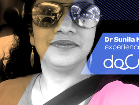 """Docterz's team contacts as soon as a query is raised with a solution."", Dr. Sunila Nagvekar, Mumbai"