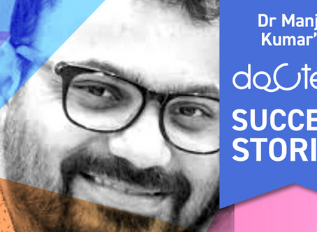 """Docterz has a huge positive change in the way I run my clinic."", Dr. Manjit Kumar, Hyderabad."